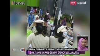 Warga Jakarta Diminta Lakukan Persiapan Antisipasi Gempa Besar - iNews Sore 03/03