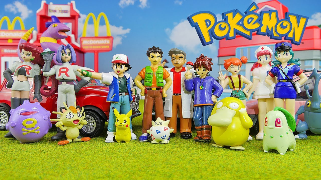 Pokemon Toys Right : Rare toys pokemon real figure collection youtube