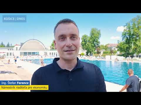 Kúpalisko Rumanová v Košiciach je pripravené na návštevníkov!