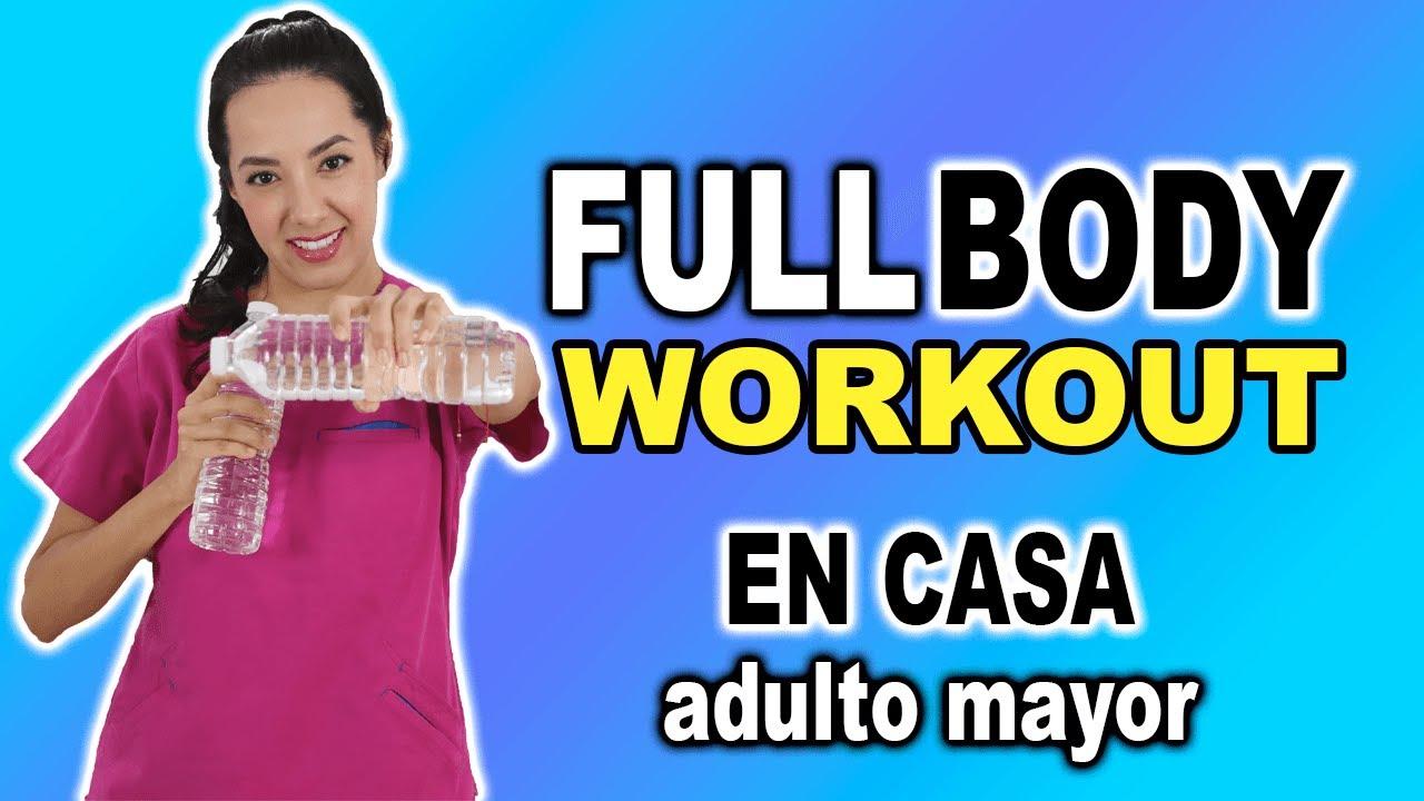 Rutina FULLBODY Workout en CASA para Adultos Mayores | 1 hora