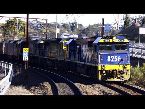 Freight & Coal Train at Leura - Australian Trains, New South Wales