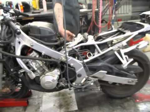 1997-(1998) honda cbr600f3 motor and parts for sale on ebay youtube.