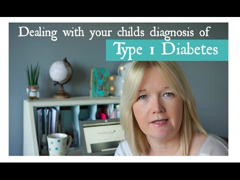 When Your Child is  Diagnosed with Type 1 Diabetes