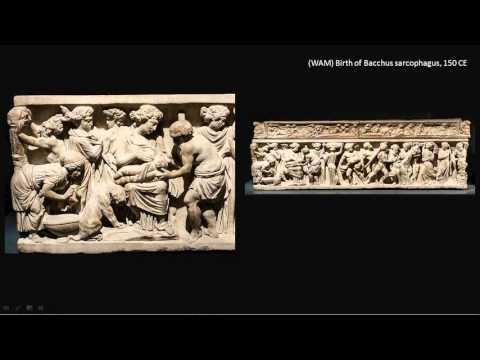 16 roman sacrophagi