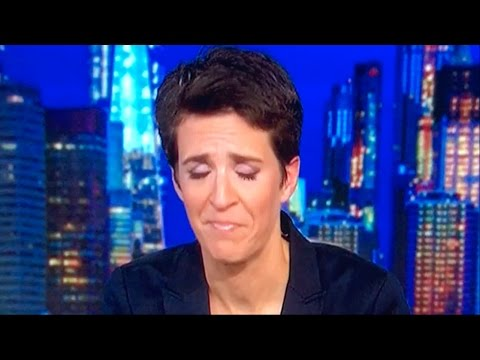 Rachel Maddow Cries Over FBI Investigating Hillary Again - Live on MSNBC
