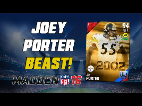 Joey Porter Is A Must Have! | Madden 16 Ultimate Team - What