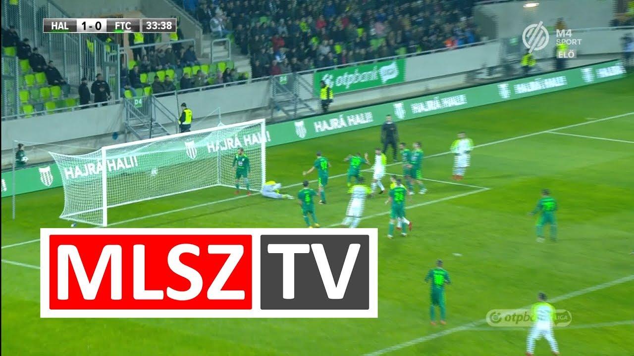 Blazic Miha gólja a Swietelsky Haladás - Ferencvárosi TC mérkőzésen