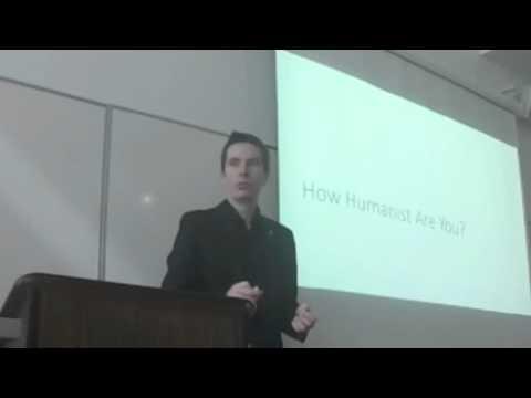 Ian Bushfield discusses Humanism at Elder College