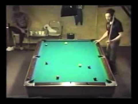 Jack Hines highlights against Earl Strickland 1988 Ohio Open final