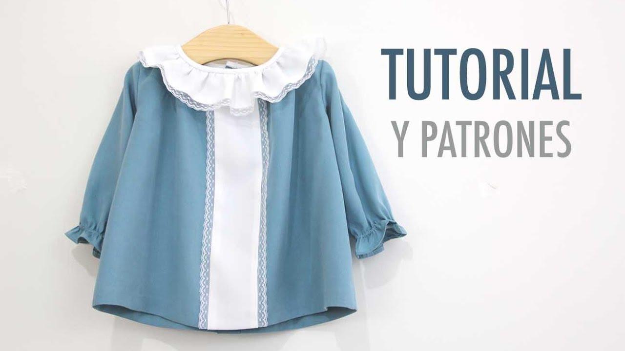 DIY Cómo hacer vestido niña (patrones gratis) - YouTube