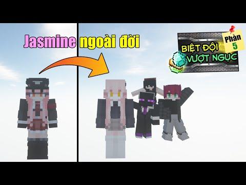 Minecraft Biệt Đội Vượt Ngục (Ngoại Truyện) #2- JASMINE Ở NGOÀI ĐỜI NHƯ THẾ NÀO ? 👮 vs 👩🦰