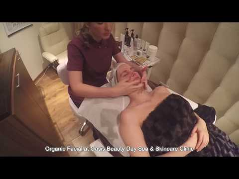 Organic Facial at Oasis Beauty Day Spa & Skincare Clinic in