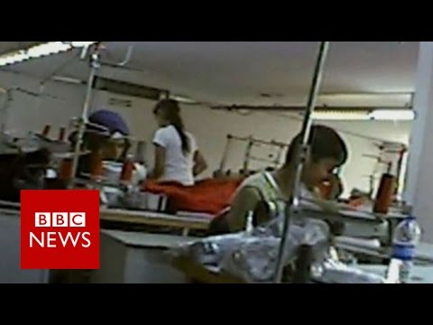 Undercover: The Refugees Who Make Our Clothes (Panorama) - BBC News