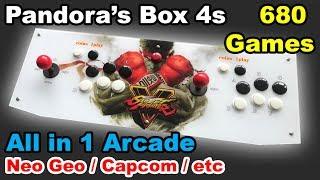 Video ✅ Pandora's Box 4s - All in one Arcade in a box 680 games download MP3, 3GP, MP4, WEBM, AVI, FLV Oktober 2017