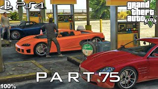 【GTA 5 100%】 Mission 37 - I Fought the Law... - Walkthrough Part 75 [GOLD MEDAL]