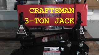 Craftsman 3 Ton Floor Jack Set HD