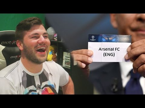 ARSENAL DRAW BAYERN AGAIN!!! Champions League Draw Reaction + Predictions!
