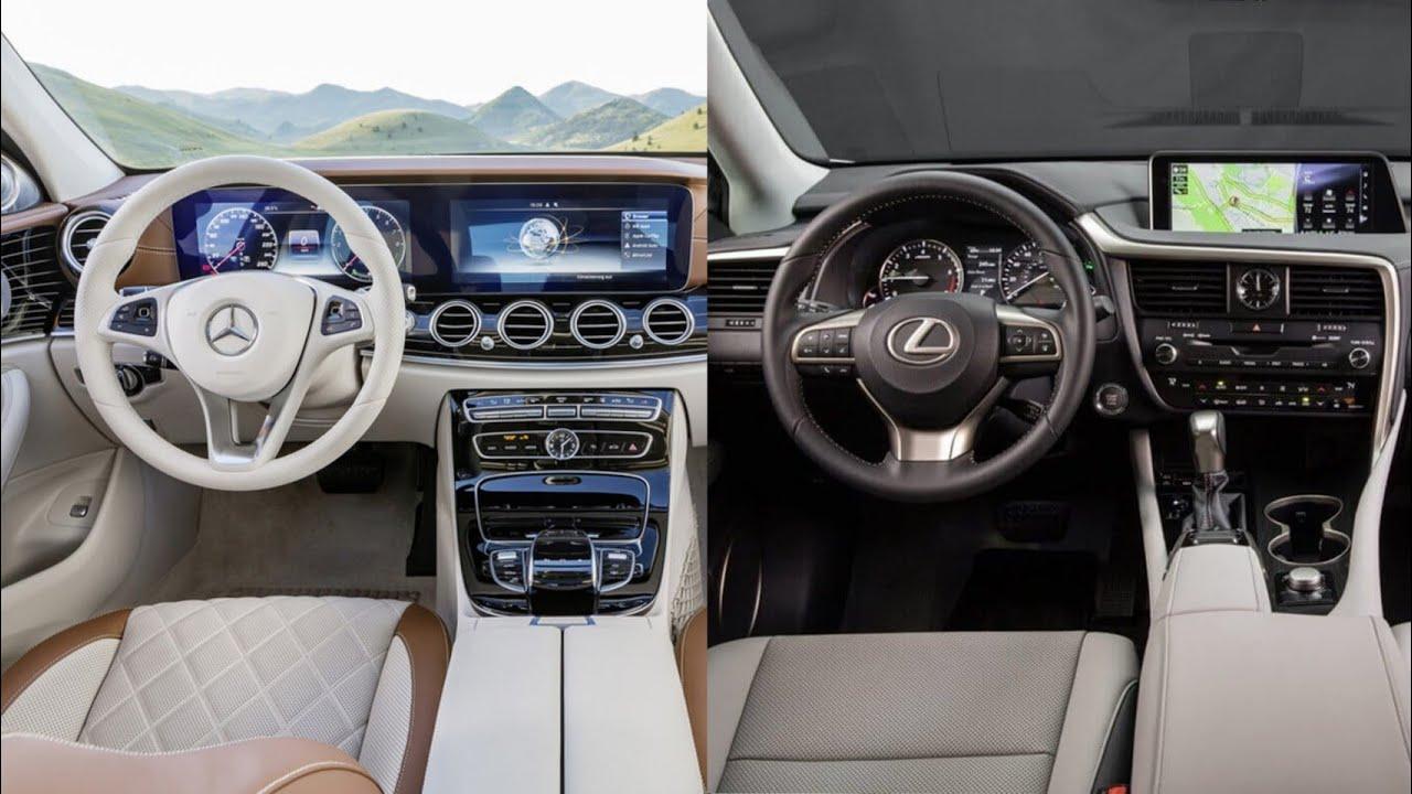 2019 Lexus ES VS Mercedes Benz E-Class - INTERIOR - YouTube