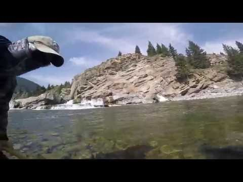 Fly Fishing The Oldman River Alberta, Canada - Oct 2016
