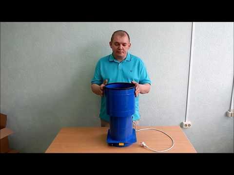 Зернодробилка (300 кг зерна в час). Домашняя бытовая дробилка для зерна