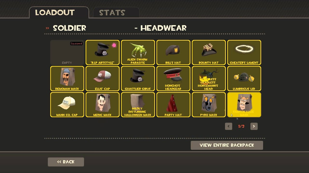 Patched Tf2 Tutorial How To Equip A Conflicting Hat