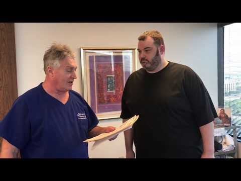 Big Bloke From UK Gets 2nd Chiropractic Adjustment Trying To Avoid Surgery