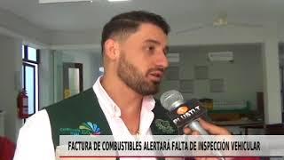 FACTURA DE COMBUSTIBLES ALERTARÁ FALTA DE INSPECCIÓN VEHICULAR
