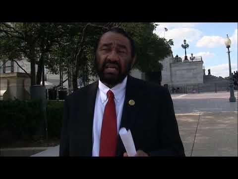 Congressman Al Green Warns President Trump About Racial Slurs