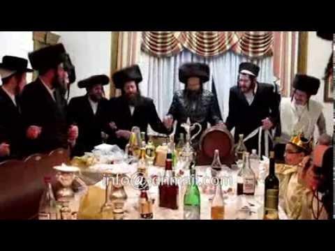 Purim Tish 5771 In Satmar Monsey