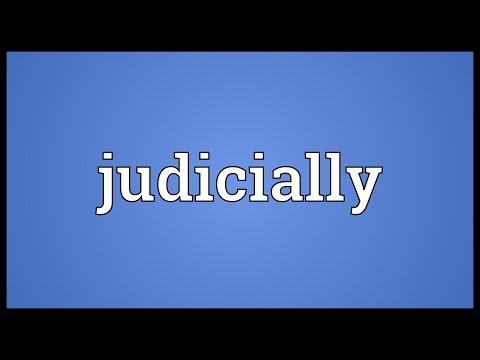 Header of judicially
