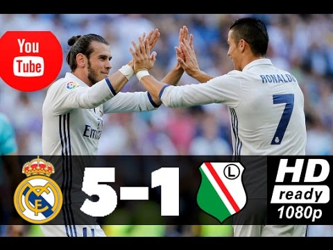 Download REAL MADRID VS LEGIA WARSAW HIGHLIGHTS