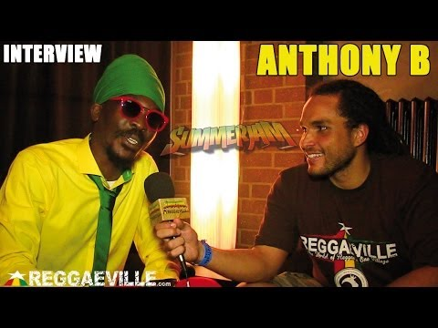 Anthony B Interview by Conkarah @ SummerJam 2014