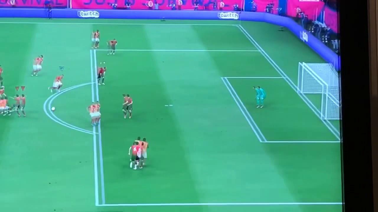 Nainggolan Tackle FIFA 19