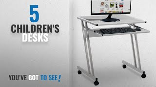 Top 10 Children'S Desks [2018]: Computer Desk Table Worksation Sliding Keyboard 62 x 48 x 73 cm