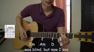 Belajar Lagu Rohani (Amazing Grace)