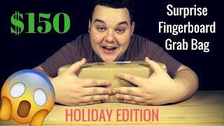 You wont believe what's inside.....($150 FLATFACE FINGERBOARDS SURPRISE GRAB BAG UNBOXING)