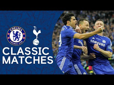 Chelsea 2-0 Tottenham   John Terry Strike Secures Victory 🏆   League Cup Final Classic Highlights