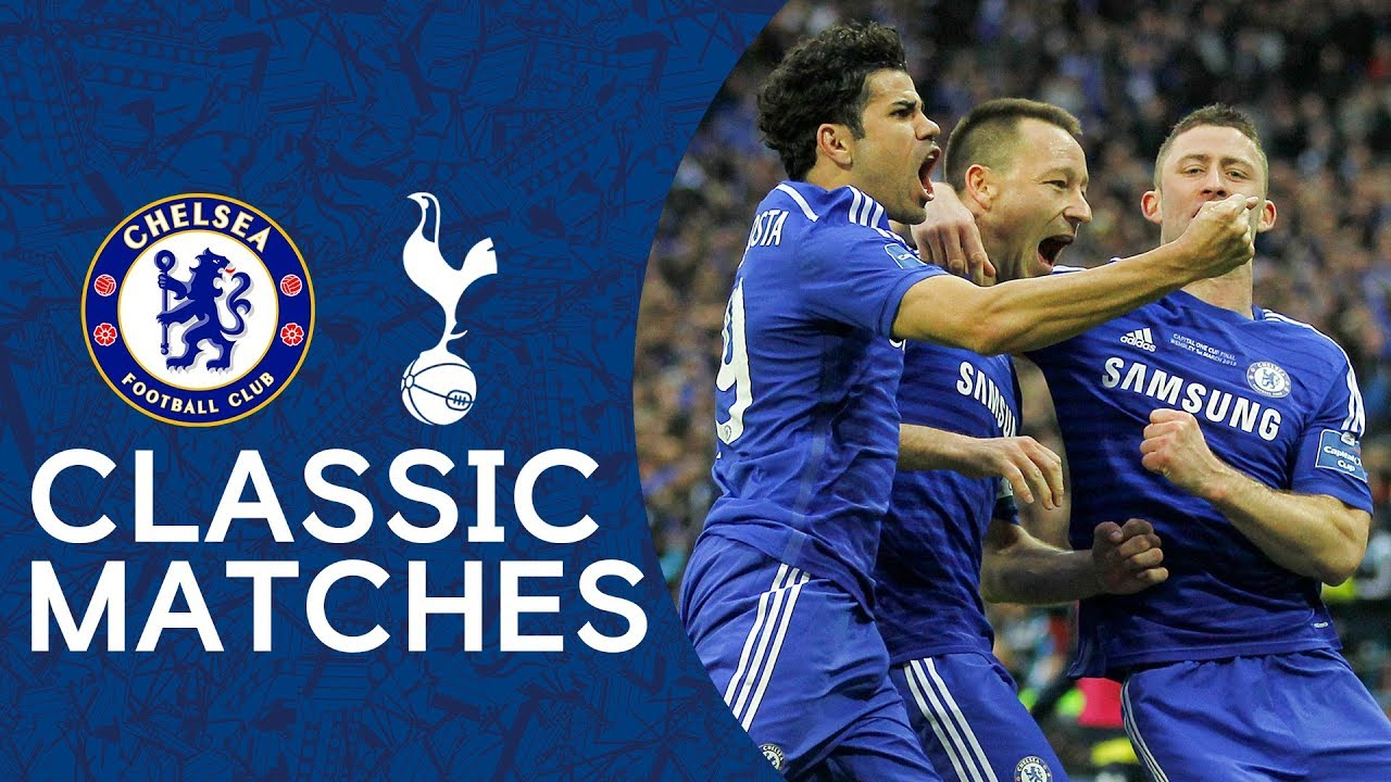 Download Chelsea 2-0 Tottenham | John Terry Strike Secures Victory 🏆 | League Cup Final Classic Highlights