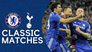 Gambar cover Chelsea 2-0 Tottenham | John Terry Strike Secures Victory 🏆 | League Cup Final Classic Highlights