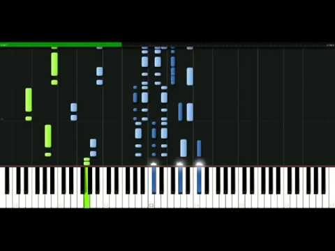 Blur - In A Country House [Piano Tutorial] Synthesia | passkeypiano
