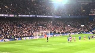Chelsea - Fabregas penalty vs West Ham 19th March 2016