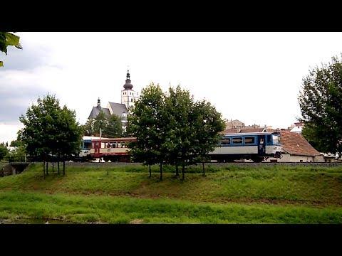 Adorable little train in Europe. Czech Republic