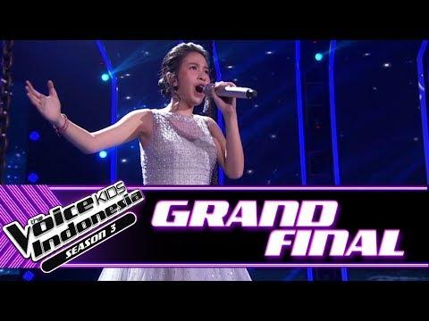 "Nadhia ""My Heart Will Go On"" | Grand Final | The Voice Kids Indonesia Season 3 GTV"