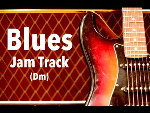 D Minor Blues Backing Track - Gary Moore Style