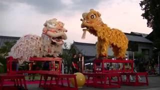 中国獅子舞 第11回 長崎奉行所 夏祭り 長崎歴史文化博物館 20160730 193334