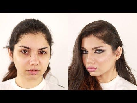 Arabian Haifa Wehbe Inspired Makeup Hanan Alnajadah Mkyag Hnan Alngadh Hyfaaa Ohby