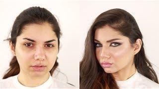 Arabian Haifa Wehbe Inspired Makeup , Hanan Alnajadah مكياج حنان النجاده هيفاء وهبي