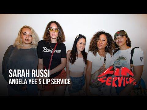 Angela Yee's Lip Service Ft. Sarah Russi