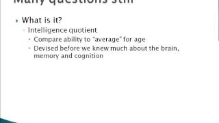an introduction to the issue of the iq below 75 One common criterion for diagnosis of mental retardation is a tested intelligence quotient (iq) of 70 or below people with a score below 75 will often.