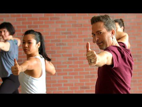 """45min. Power Yoga """"Inner Teacher"""" with Travis Eliot"""
